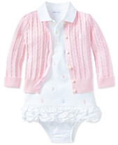 fa56ad5f8ce6 Baby Girl (0-24 Months) Ralph Lauren Kids Clothing - Macy s