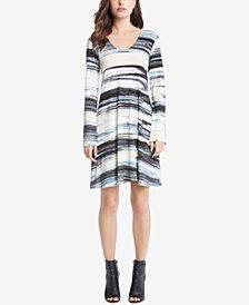 Karen Kane Taylor Printed Dress