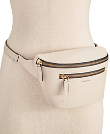 Calvin Klein Pebble Leather Fanny Pack