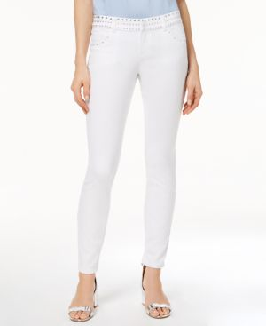 Anna Sui Loves I.n.c. Studded Skinny Jeans, Created for Macy's 6297618