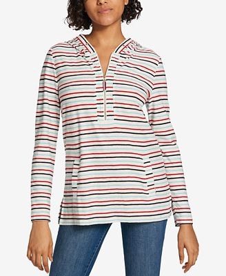 Tommy Hilfiger Cotton Hooded Top, Created for Macy's