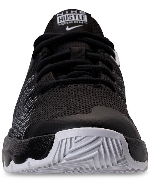 5baeefd0ac9e ... Nike Big Boys  Team Hustle Quick Basketball Sneakers from Finish ...