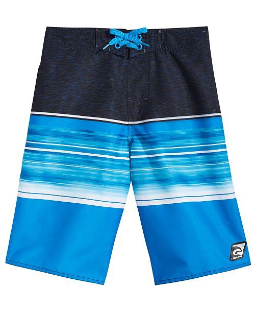 d22d60504f Laguna Sunset Cove Colorblocked Swim Trunks, Big Boys - Swimwear ...