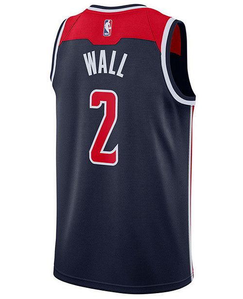 buy online 3ada7 d86c0 Men's John Wall Washington Wizards Statement Swingman Jersey