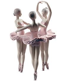 Lladró Our Ballet Pose Figurine