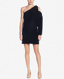 Catherine Malandrino Kiran Silk One-Shoulder Dress