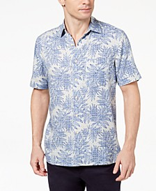 Island Men's Tropical Print Shirt, Created for Macy's