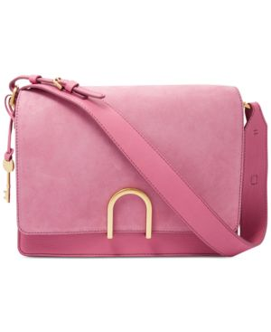 FINLEY SMALL LEATHER SHOULDER BAG