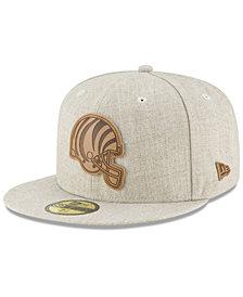New Era Cincinnati Bengals Heathered Helmet 59FIFTY Fitted Cap