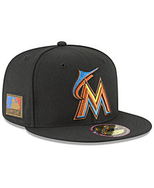 New Era Miami Marlins Ultimate Patch Collection 125th Anniversary 59FIFTY Fitted Cap