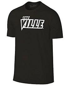 J America Men's Louisville Cardinals Tonal Pop T-Shirt