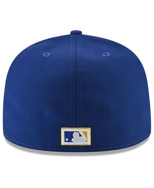 promo code 1b8f5 2cc61 New Era Milwaukee Brewers Ultimate Patch Collection World Series 59FIFTY  Fitted Cap ...