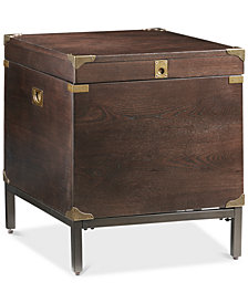 Voyager Storage End Table, Quick Ship
