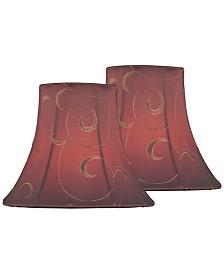 Lite Source Set of 2 Clip-on Candelabra Chandelier Shade