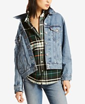 2fbbfea17a32 Levi s® Ex-Boyfriend Cotton Denim Trucker Jacket
