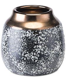 Zuo Stoneware Metal Small Vase