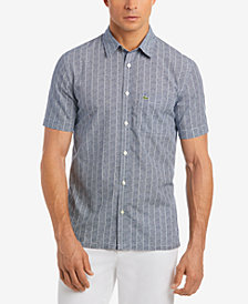 Lacoste Men's Allover Print Shirt