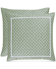 "Piper & Wright Julia 18"" Square Decorative Pillow"