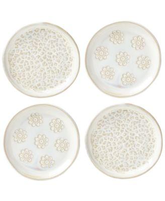 Lenox-Wainwright Boho 4-Pc. Canapé Plate Set, Created for Macy's