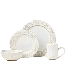 Lenox-Wainwright Boho Beach 4-Piece Place Setting, Created for Macy's