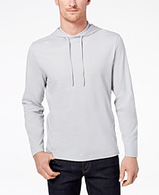 Club Room Men's Jersey Hooded Shirt, Created for Macy's