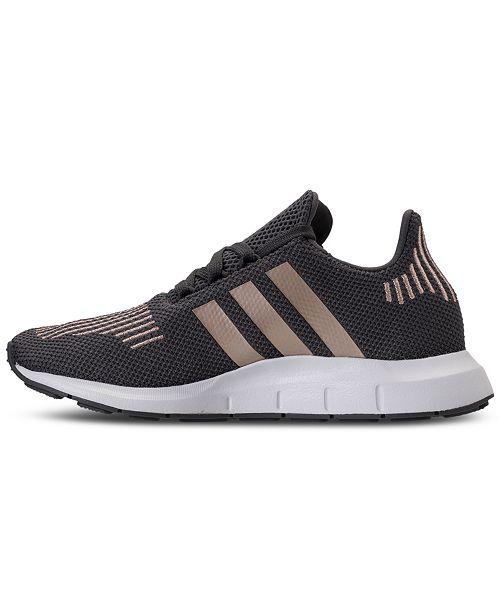 7f91c82eddcb9e adidas Big Girls    Swift Run Running Sneakers from Finish Line ...