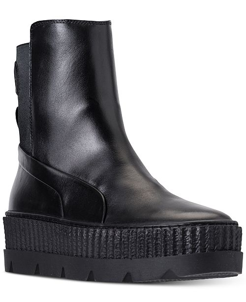 13ddc690f8065d ... Puma Women s Fenty x Rihanna Chelsea Sneaker Boot from Finish ...