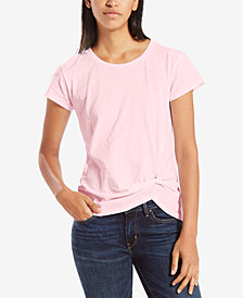 Levi's® Bridget Cotton Twisted T-Shirt