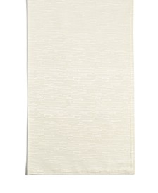 "CLOSEOUT! Continental 70"" Cream Table Runner"