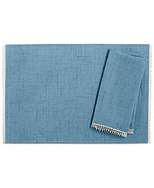 Lenox French Perle Denim Napkin