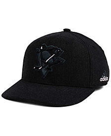 adidas Pittsburgh Penguins Black Tonal 873 Flex Cap