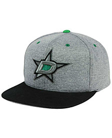Mitchell & Ness Dallas Stars Heather Snapback Cap