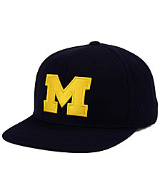 Top of the World Michigan Wolverines Extra Logo Snapback Cap