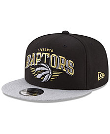 New Era Toronto Raptors Gold Mark 9FIFTY Snapback Cap