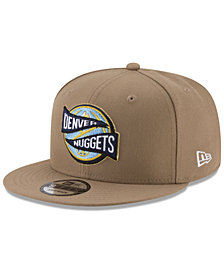 New Era Denver Nuggets Team Banner 9FIFTY Snapback Cap