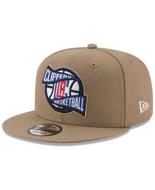 New Era Los Angeles Clippers Team Banner 9FIFTY Snapback Cap