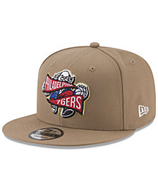 New Era Philadelphia 76ers Team Banner 9FIFTY Snapback Cap