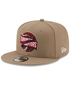 New Era Toronto Raptors Team Banner 9FIFTY Snapback Cap