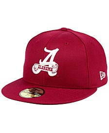 Alabama Crimson Tide Vault 59FIFTY Fitted Cap