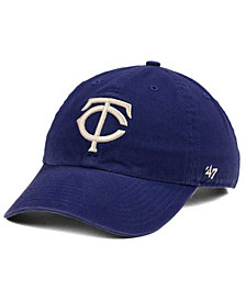 '47 Brand Minnesota Twins Timber Blue CLEAN UP Cap