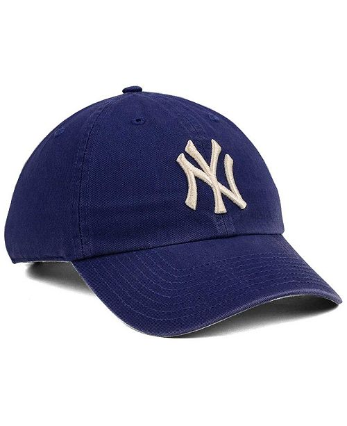 Sport 47 Brand Adjustable Cap Hüte & Mützen Clean Up New York Yankees Timber