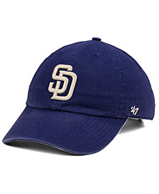 '47 Brand San Diego Padres Timber Blue CLEAN UP Cap
