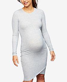 A Pea In The Pod Maternity Ribbed Sheath Dress