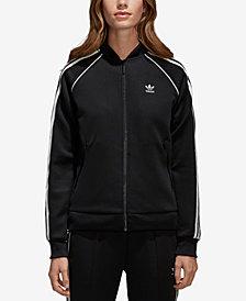 adidas Originals Women's adicolor Superstar Three-Stripe Track Jacket