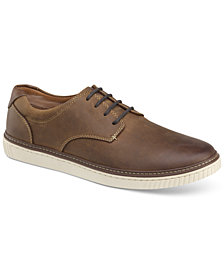 Johnston & Murphy Men's Walden Plain Toe Lace-Ups, Created for Macy's