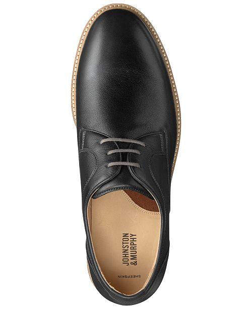 Richelieus hommes Barlow JohnstonMurphy Avis Chaussures Noir Toutes lisses bouts Homme laces a pour lFcK1TJ