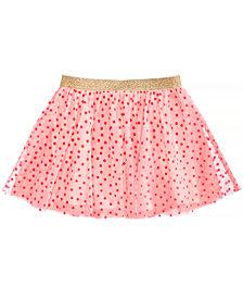 Epic Threads Flocked Dot-Print Skirt, Toddler Girls, Created for Macy's