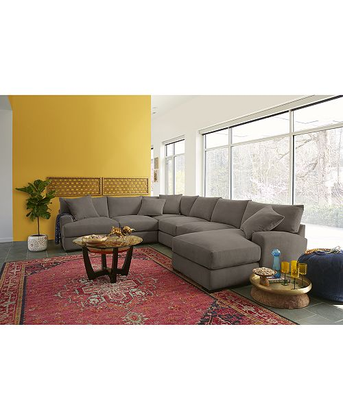 Astonishing Rhyder 5 Pc Fabric Sectional Sofa With Apartment Sofa Created For Macys Gmtry Best Dining Table And Chair Ideas Images Gmtryco