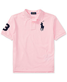 Ralph Lauren Cotton Polo, Big Boys