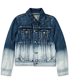 Ralph Lauren Ombré Denim Cotton Jacket, Big Girls
